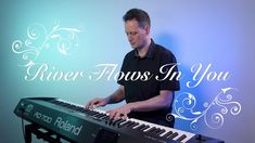 River Flows In You written by Yiruma. Here's my piano cover of this romantic piano piece. River Flow In You, Piano Cover, Song Play, Royalty Free Music, Piano Music, Instrumental, Singing, Neon Signs, Romantic