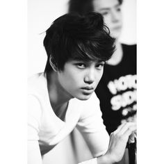 KAI profile pics KAI (EXO-K) ❤ liked on Polyvore featuring exo, kpop, kai and pictures
