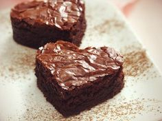 How come I've never thought of making the famous Wallace brownies as a snack for Children's Church. Brownie Low Carb, Healthy Brownies, Brownie Points, Great Recipes, Favorite Recipes, Recipes Dinner, Heart Healthy Recipes, Chocolate Brownies, Fudgy Brownies