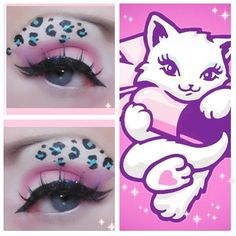 So pretty and sweet! Xolacishae used #Sugarpill Lumi, Birthday Girl and Paperdoll to create this look inspired by our pillkitty mascot logo. Love the leopard spots!