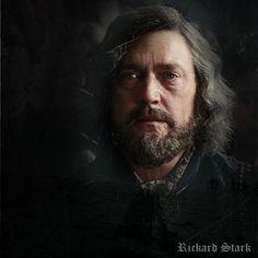 Vincent Regan as Rickard Stark Lord of Winterfell. Husband of Lady Stark. Father to Brandon, Eddard, Lyanna and Benjen Stark.