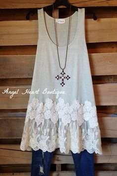 See You In My Dreams Tunic - Sage - Umgee - Tunic - Angel Heart Boutique