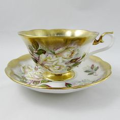 Royal Albert Tea Cup and Saucer Treasure Chest