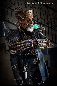 How's this for a Steampunk Frankenstein?