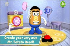 best preschool apps mr potato head create and play Art Classroom Management, Mac, Potato Heads, Learning Through Play, Toddler Fun, Classic Toys, Speech And Language, Early Childhood, Preschool