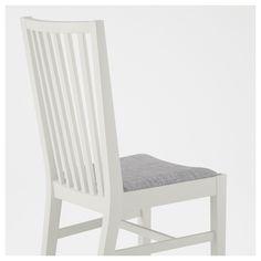 IKEA - NORRNÄS Chair white, Isunda gray
