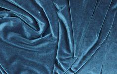 Iridescent Stretch Velvet Fabric Peacock