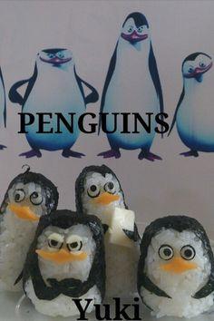 ペンギンズおにぎり♪ by ゆうき☆Yuki