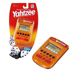 Kids' Handheld Games - Yahtzee Electronic Handheld Gold *** Continue to the product at the image link.