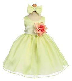Flower girl ideas - Sash with flower