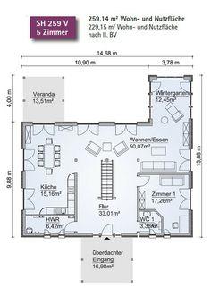 Die neue Villa im Fertighausstil von Scanhaus Marlow
