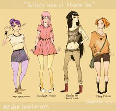 hipster adventure time - Google Search