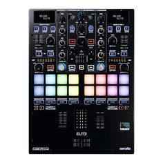 Reloop ELITE is a high-performance digital vinyl system (DVS) DJ mixer, crafted in partnership with some of the world's top scratch DJs and works fluently with Serato Pro DJ software. Mixer Dj, Music Mixer, Design Studio Office, Recording Studio Design, Recording Equipment, Dj Equipment, Allen And Heath, Serato Dj, Dj Sound