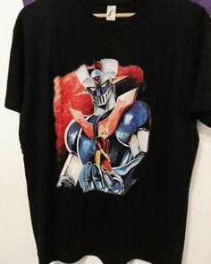 Nuevo modelo de Mazinguer Z :-) Que tiempos :-) #mistergiftbcn #mistergift #oficial #official #mazinguerz #camiseta
