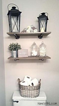Superb Easy tips for how to create a rustic, farmhouse-style bathroom. Full article and detailed pictures at homewithlo.com The post Easy tips for how to create a rustic, .. by jenna
