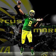 Oregon Ducks.  Marcus Mariota!