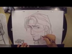 Learn to Draw: Flynn Rider from 'Tangled' at Disney's Hollywood Studios « Disney Parks Blog