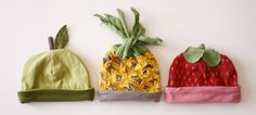 Belle Bébés - Baby fruit hats