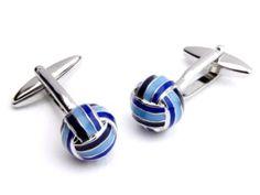 Blue Knot Cufflinks Was £49.00 | Now £19.00 http://tidd.ly/374ebf07