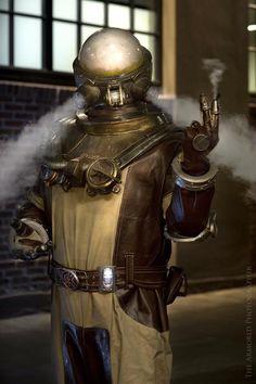 "steampunktendencies: ""  Hellboy II Johann Krauss by Ryan Wells """