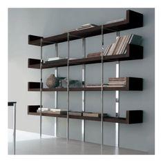 estanteria shelfservice moderna de la firma alivar de varios tamaos para despachos de hogar o como