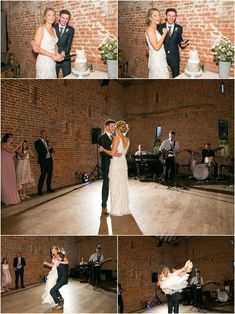 bride and groom cutting their wedding cheese cake, and then then having their first dance with light shining from behind, groom picks bride up. First Dance, Party Time, Ted, Groom, Cheese, Bride, Wedding Dresses, Photography, Fashion