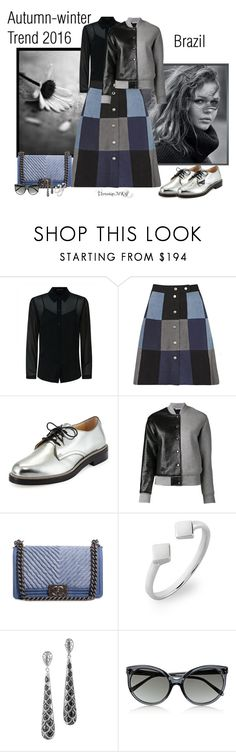 """""""Trend"""" by veronica-maria-kratochwill ❤ liked on Polyvore featuring XOXO, Jaeger, Sea, New York, Jimmy Choo, T By Alexander Wang, Chanel, Bony Levy, John Hardy and Linda Farrow"""