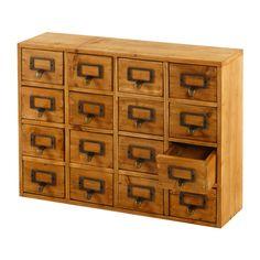 Geko Products 16 Drawer Storage Unit