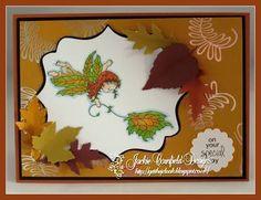 Autumn Fairy, Main Page, I Card, Fairies, Fall, Sweet, Image, Design, Products