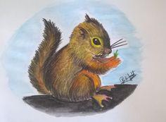 Little squirrel by Bhavik salat