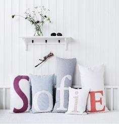 Pillow collection 3 for Oliver Furniture / Nordisk Rum by Pernille Grønkjær…