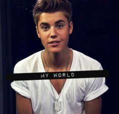 My World right there: Justin Bieber ♥