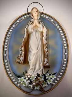 Visions of Our Blessed Mother Our Lady of Hope 1st Edition 3D Collectable Plate | eBay