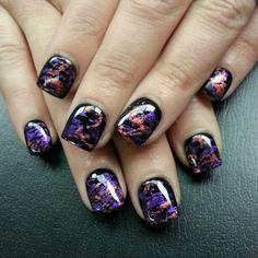 #nail #nails #nailart Love Nails, Fun Nails, Pretty Nails, Nail Polish Style, Nail Polish Art, Square Nail Designs, Nail Art Designs, Nail Art Diy, Cool Nail Art