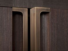 Furniture, handle, bronze grips by Holly Hunt. Furniture Handles, Furniture Hardware, Cheap Furniture, Furniture Design, Furniture Market, Furniture Outlet, Discount Furniture, Furniture Cleaning, Furniture Removal