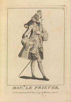 Monsieur Le Frizeur, attributed to Sir Henry William Bunbury  (British, Mildenhall, Suffolk 1750–1811 Keswick, Cumberland) published May 21 1771