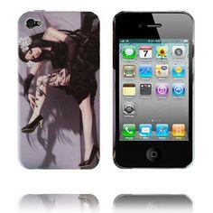 Ghost Woman (Vit Blomma) iPhone 4 Skal
