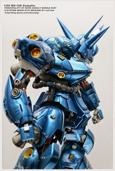 POINTNET.COM.HK - G-System 1/60 MS-18E Kampfer 京寶凡
