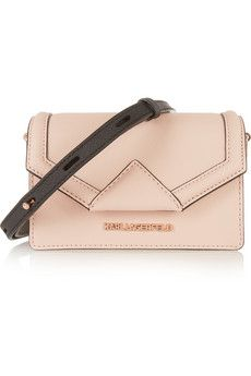af34287d0e4b Blush textured-leather (Cow) Snap-fastening front flap Designer color  Nude  Comes with dust bag