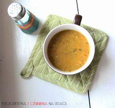 DIETETYCZNA zupa z soczewicy - Martyna Banasiak (dawniej Psychodietka)