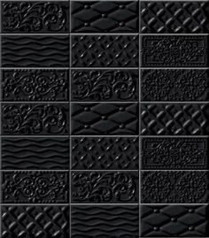 raspail negro metró dekorcsempe mix 10x20 - Csempék, járólapok,díszburkolatok online áruháza.