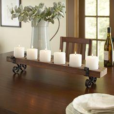 Birch Lane Plank Candleholder
