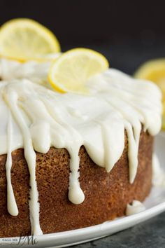 Trisha Yearwoods Lemon Pound Cake with GlazeReally nice recipes.  Mein Blog: Alles rund um Genuss & Geschmack  Kochen Backen Braten Vorspeisen Mains & Desserts!