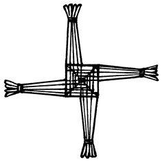 st brigid 39 s cross tattoos pinterest crosses. Black Bedroom Furniture Sets. Home Design Ideas