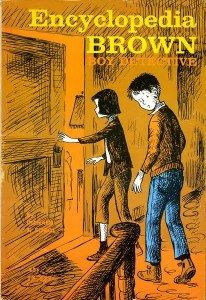 Encyclopedia Brown, Boy Detective by Donald Sobol  There are 15 books in the series. These cases gave me my love for trivia.