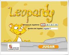 """""""Leopardy"""" es un juego tipo jeopardy, de la Junta de Castilla y León, en el que se ha de probar, jugando solo o contra otros jugadores, diversos conocimientos que tenemos sobre los animales."""