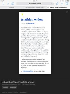 d1f02e18 15 Best Triathlon Support images | Triathalon, Triathlon, Daddy
