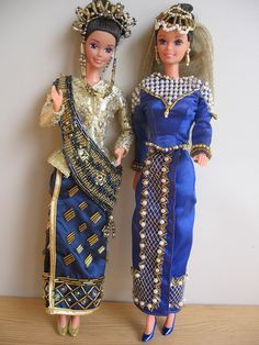 Filipina Reyna Mora Barbies Santacruzan and Flores de Mayo by andora_isadrew, via Flickr