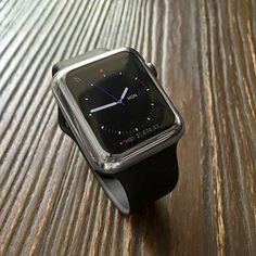 Space grey Apple watch case - Decouart - 1