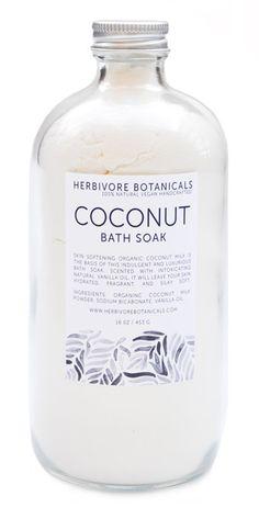 Coconut Milk Bath Soak #LEIFgiftygiveaway